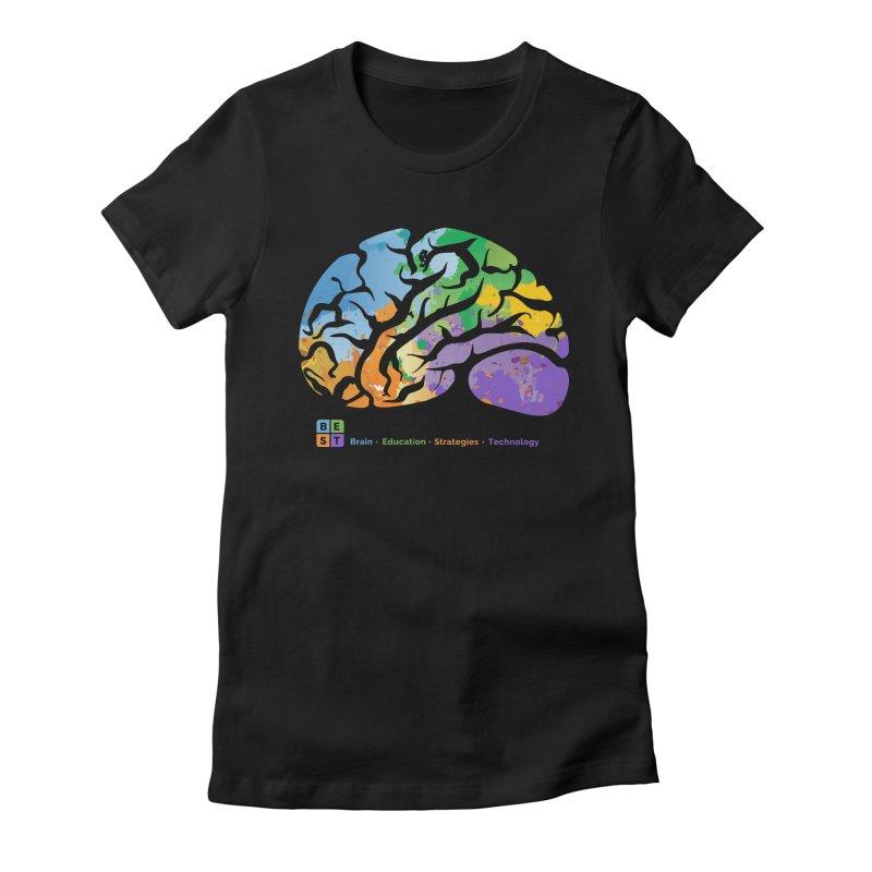 BEST BRAIN TEE Women's T-Shirt by bestconnections's Artist Shop