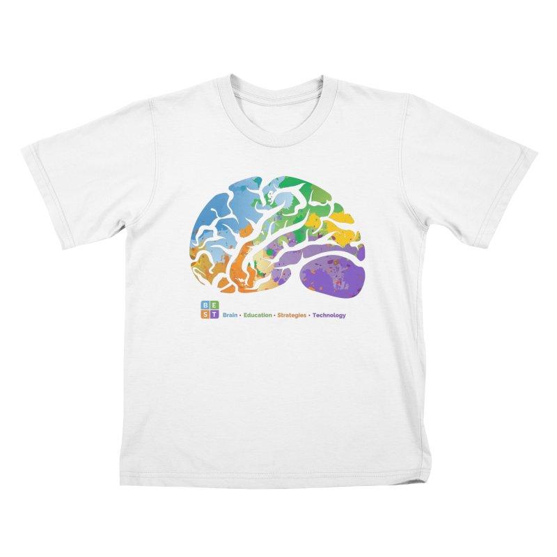 BEST BRAIN TEE Kids T-Shirt by bestconnections's Artist Shop