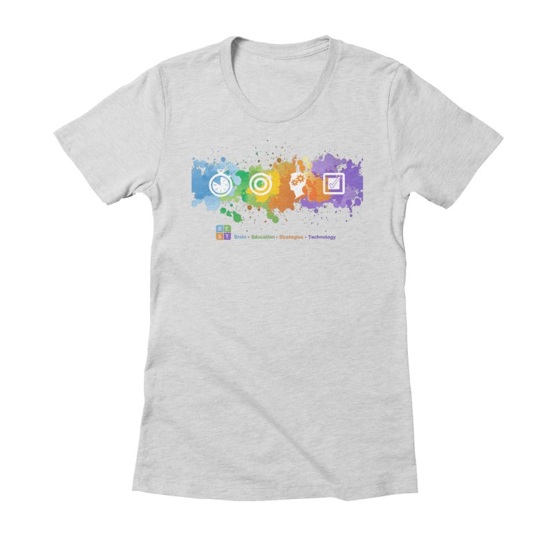 BEST SPLATTER WOMEN TEE Women's T-Shirt by bestconnections's Artist Shop