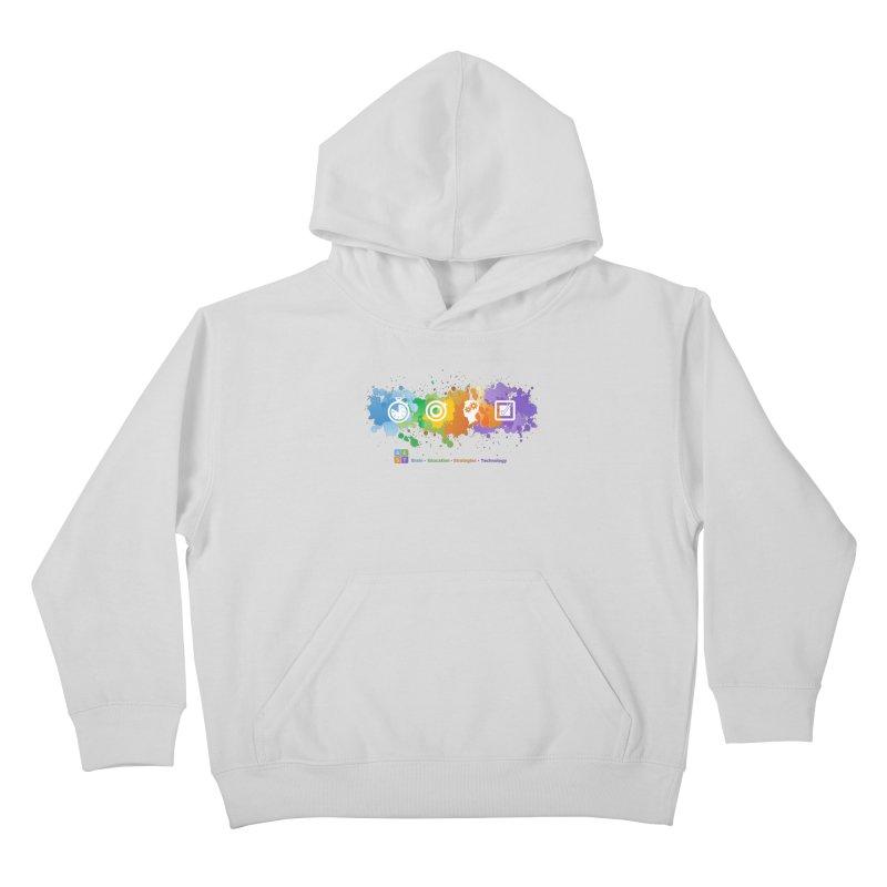 BEST SPLATTER SWEATSHIRTS Kids Pullover Hoody by bestconnections's Artist Shop