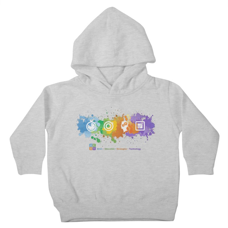 BEST SPLATTER SWEATSHIRTS Kids Toddler Pullover Hoody by bestconnections's Artist Shop