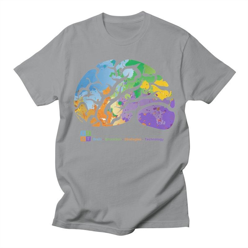 BEST COLORFUL BRAIN Men's T-Shirt by bestconnections's Artist Shop