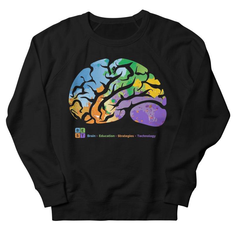 BEST COLORFUL BRAIN Men's Sweatshirt by bestconnections's Artist Shop