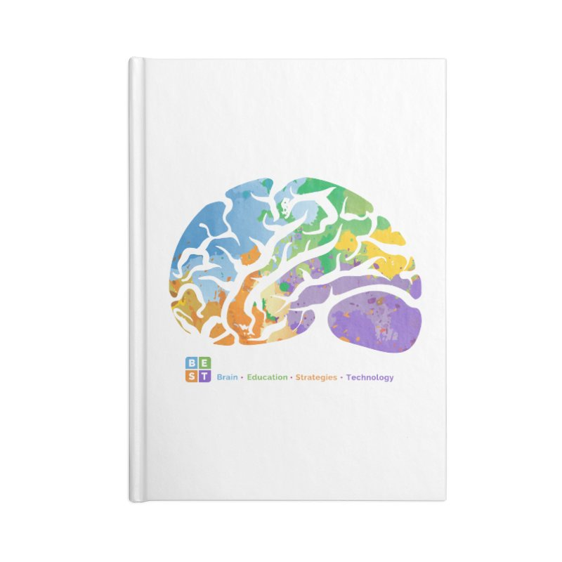 BEST COLORFUL BRAIN Accessories Notebook by bestconnections's Artist Shop