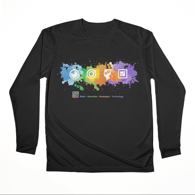 BEST APP SPLATTER Women's Longsleeve T-Shirt by bestconnections's Artist Shop