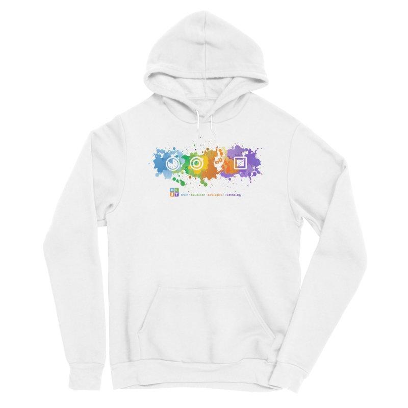 BEST APP SPLATTER Women's Pullover Hoody by bestconnections's Artist Shop