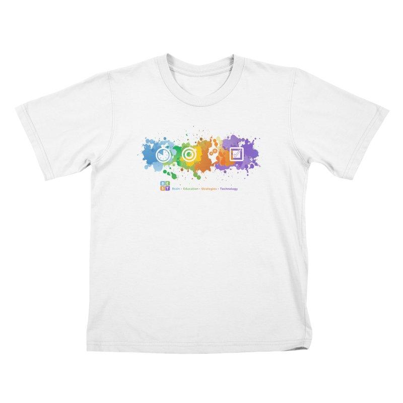 BEST APP SPLATTER Kids T-Shirt by bestconnections's Artist Shop