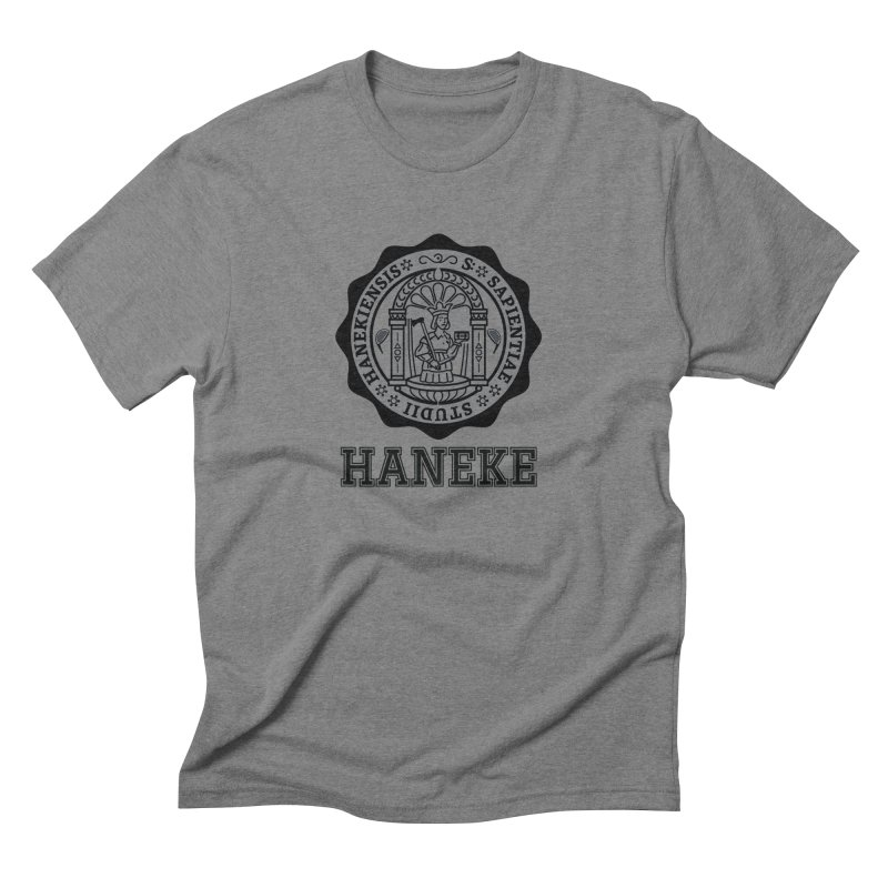 Haneke Is My College Men's Triblend T-Shirt by Best Part Productions - Shirts and Stuff