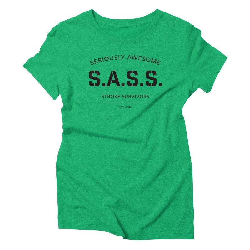 Seriously Awesome Stroke Survivors T-shirt Women's T-Shirt by Best Part Productions - Shirts and Stuff