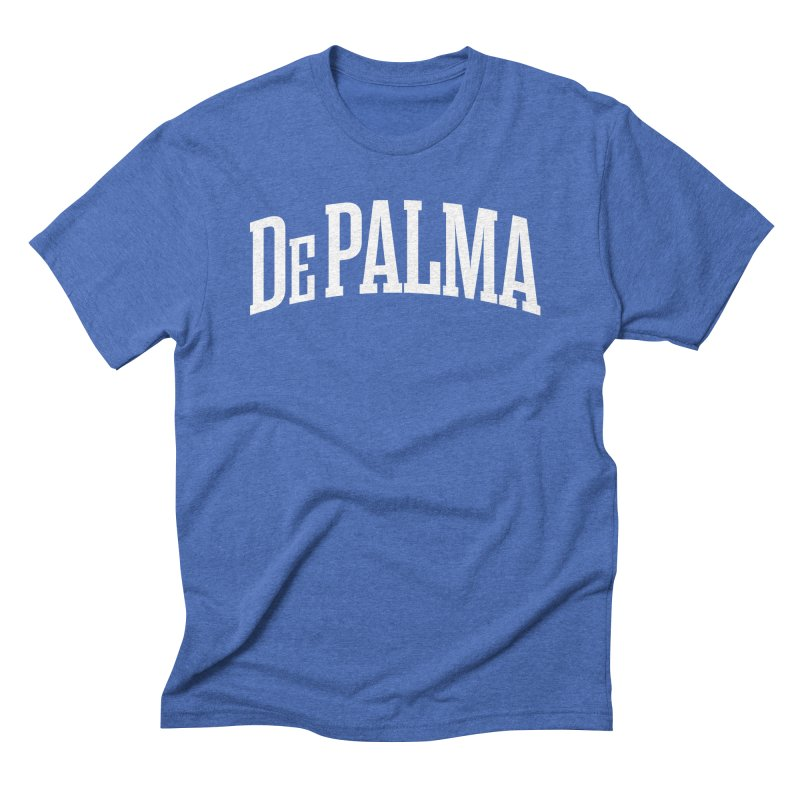 De Palma Is My College - Original White Logo Men's T-Shirt by Best Part Productions - Shirts and Stuff