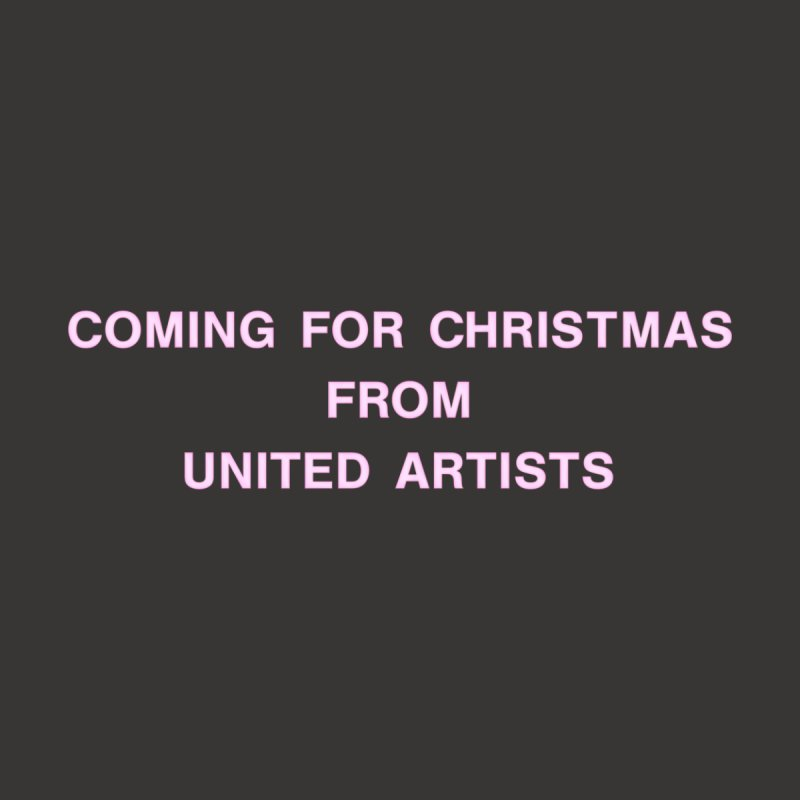 Coming For Christmas United Artists Men's T-Shirt by Best Part Productions - Shirts and Stuff