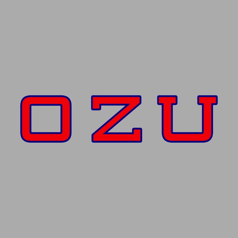 Ozu Is My College by Best Part Productions - Shirts and Stuff