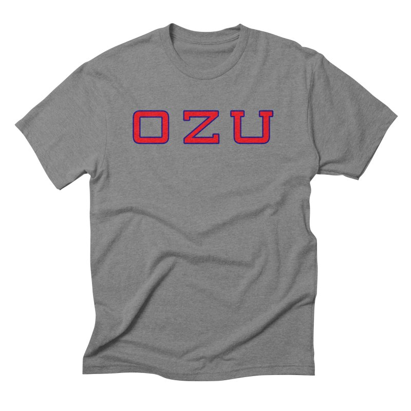 Ozu Is My College Men's Triblend T-Shirt by Best Part Productions - Shirts and Stuff