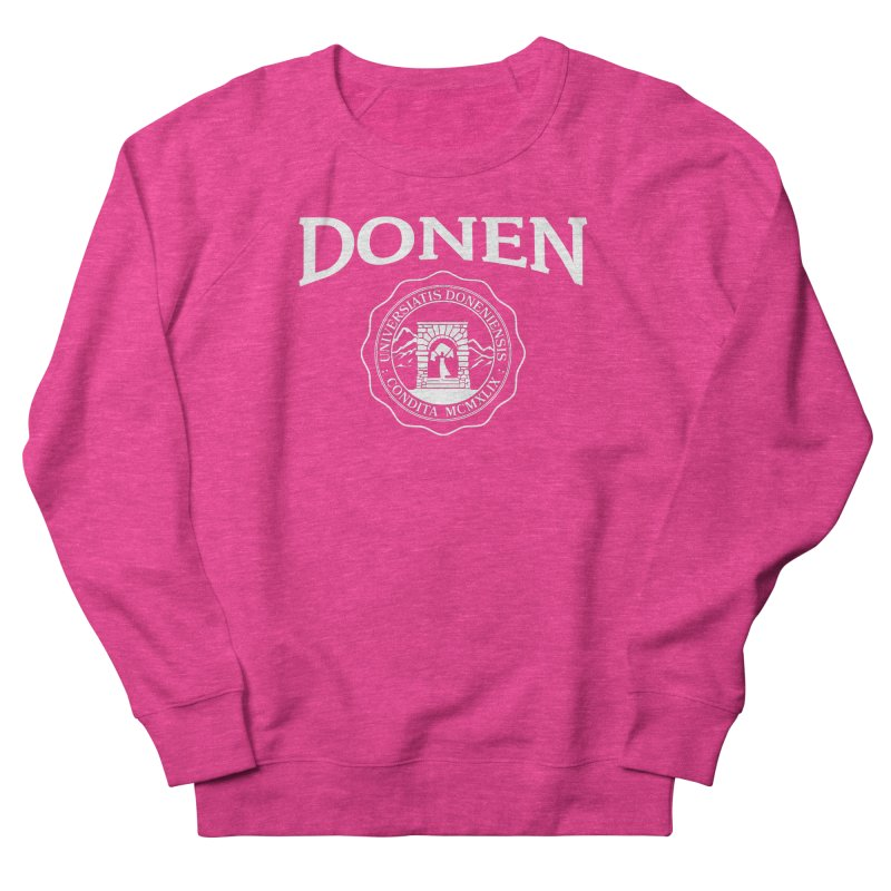 Donen Is My College in Men's French Terry Sweatshirt Heather Heliconia by Best Part Productions - Shirts and Stuff