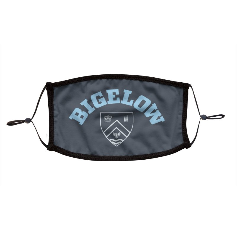 Bigelow Is My College Accessories Face Mask by Best Part Productions - Shirts and Stuff