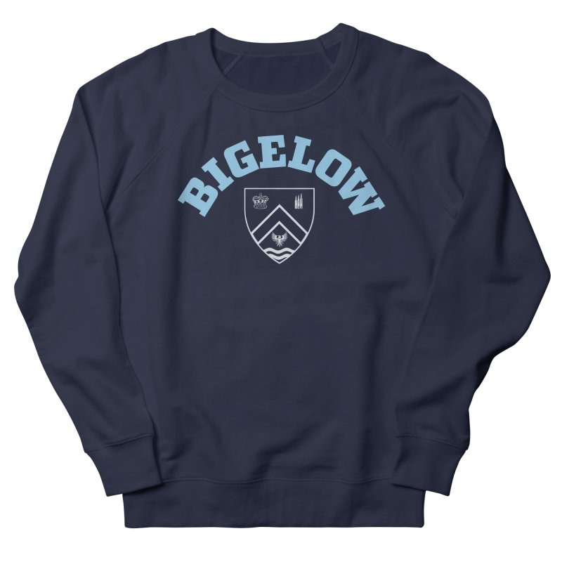 Bigelow Is My College Men's French Terry Sweatshirt by Best Part Productions - Shirts and Stuff