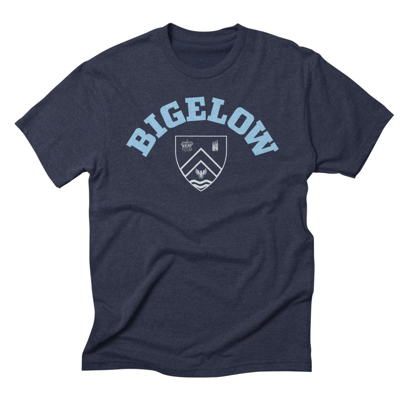 Bigelow Is My College Men's Triblend T-Shirt by Best Part Productions - Shirts and Stuff