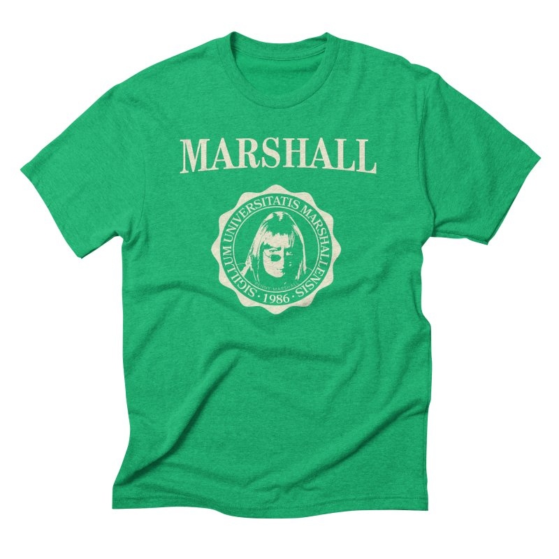 Marshall Is My College Men's Triblend T-Shirt by Best Part Productions - Shirts and Stuff