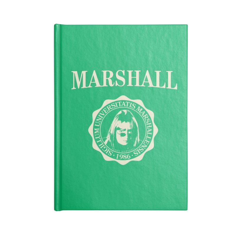 Marshall Is My College Accessories Notebook by Best Part Productions - Shirts and Stuff
