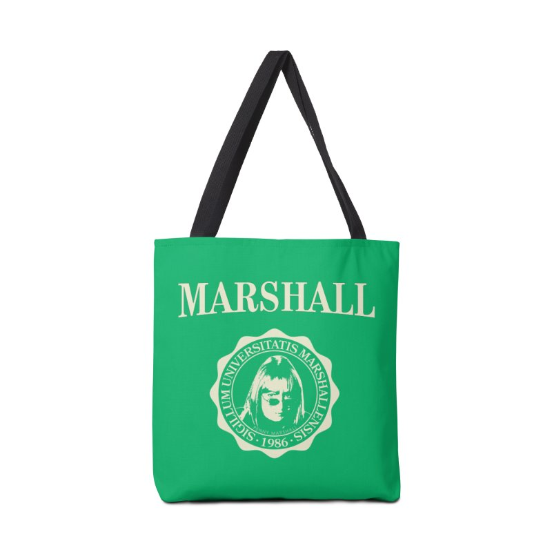 Marshall Is My College Accessories Bag by Best Part Productions - Shirts and Stuff