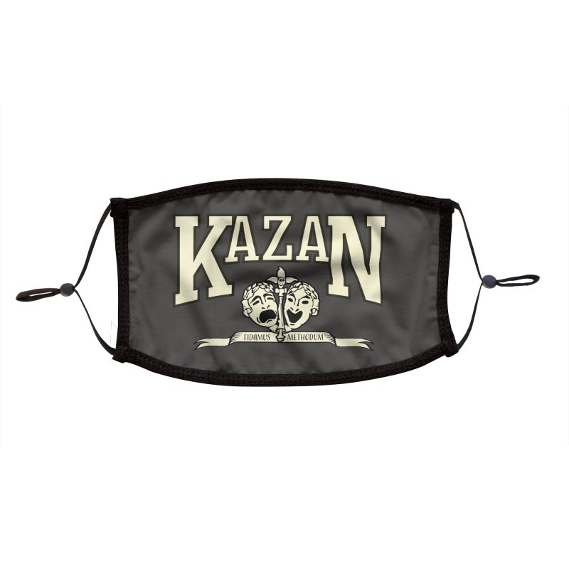 Kazan Is My College Accessories Face Mask by Best Part Productions - Shirts and Stuff