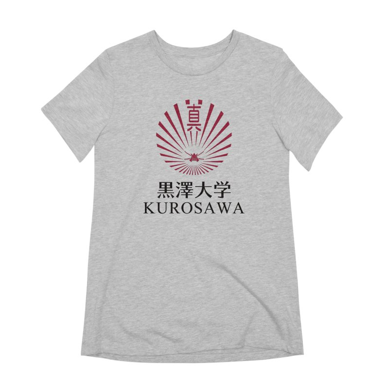Kurosawa Is My College Women's Extra Soft T-Shirt by Best Part Productions - Shirts and Stuff