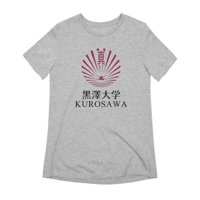 Kurosawa Is My College Women's T-Shirt by Best Part Productions - Shirts and Stuff