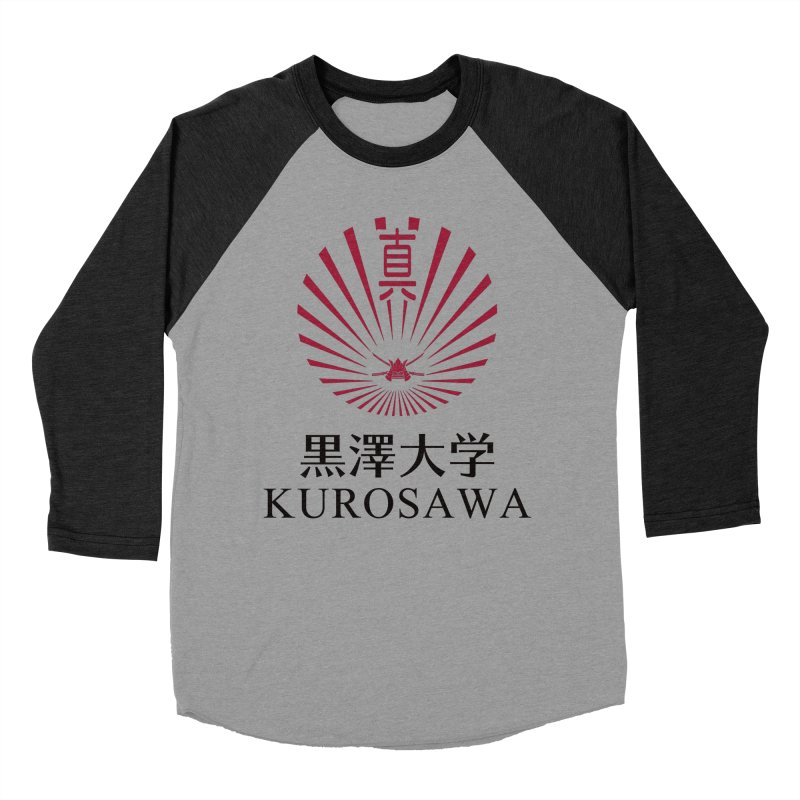 Kurosawa Is My College Men's Baseball Triblend Longsleeve T-Shirt by Best Part Productions - Shirts and Stuff