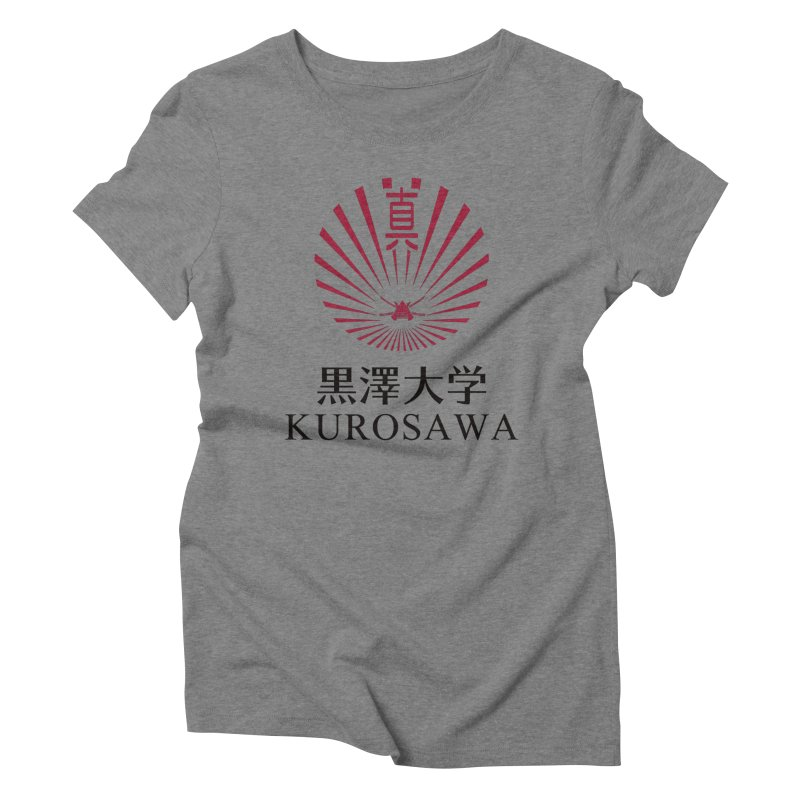 Kurosawa Is My College Women's Triblend T-Shirt by Best Part Productions - Shirts and Stuff