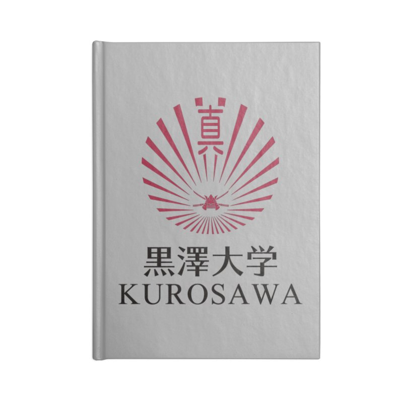 Kurosawa Is My College Accessories Notebook by Best Part Productions - Shirts and Stuff