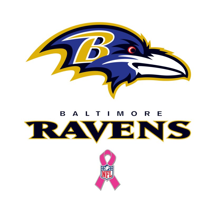 Ravens Pink BC Women's T-Shirt by Betches Guide to Cancer Shop