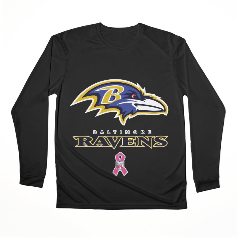 Ravens Pink BC Women's Performance Unisex Longsleeve T-Shirt by Betches Guide to Cancer Shop