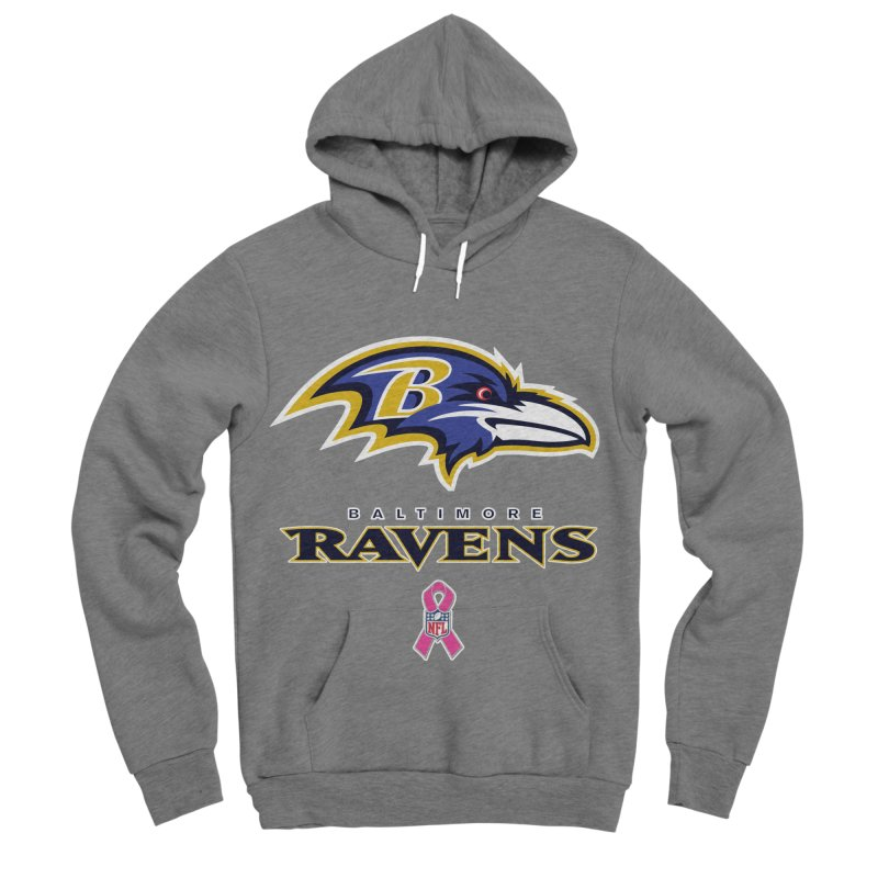 Ravens Pink BC Women's Sponge Fleece Pullover Hoody by Betches Guide to Cancer Shop