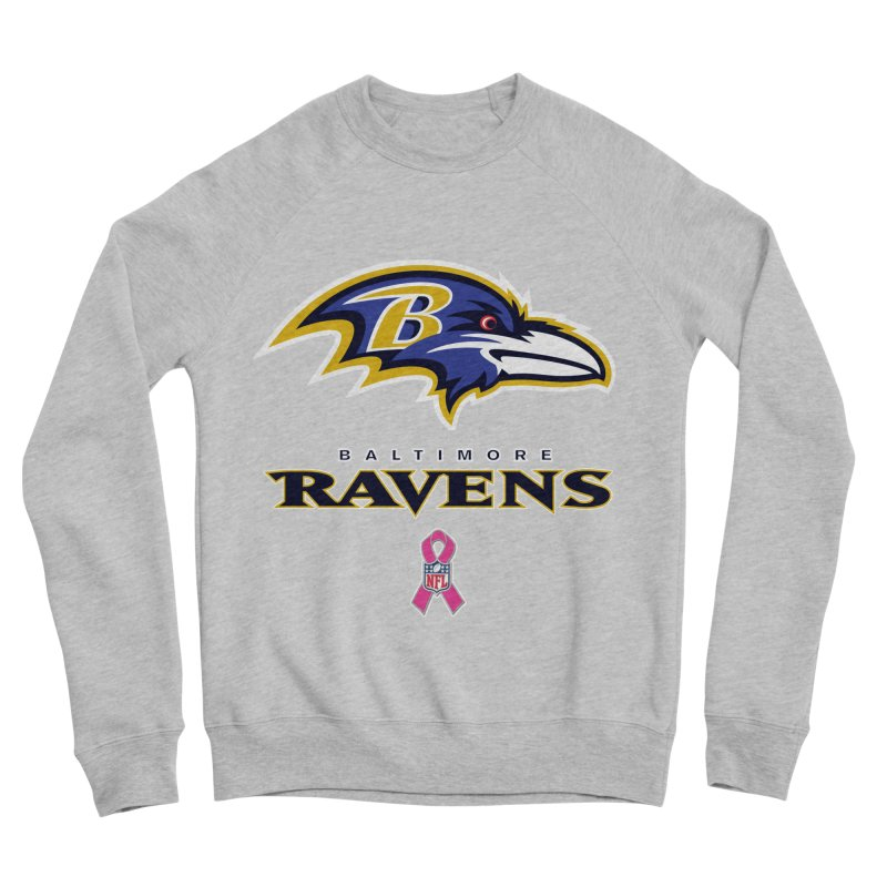 Ravens Pink BC Women's Sponge Fleece Sweatshirt by Betches Guide to Cancer Shop