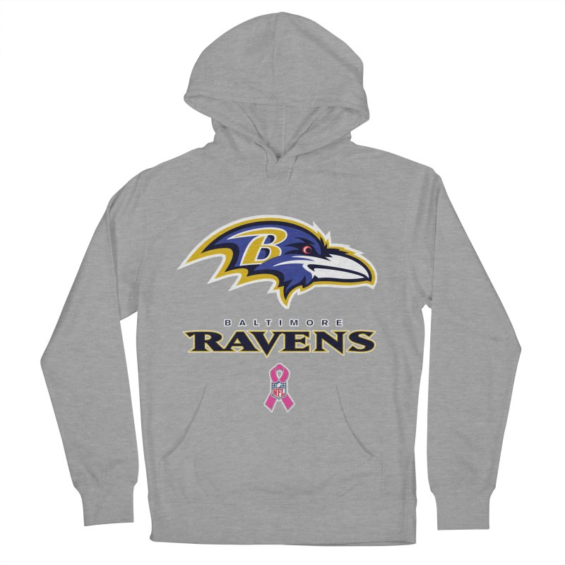 Ravens Pink BC Women's French Terry Pullover Hoody by Betches Guide to Cancer Shop