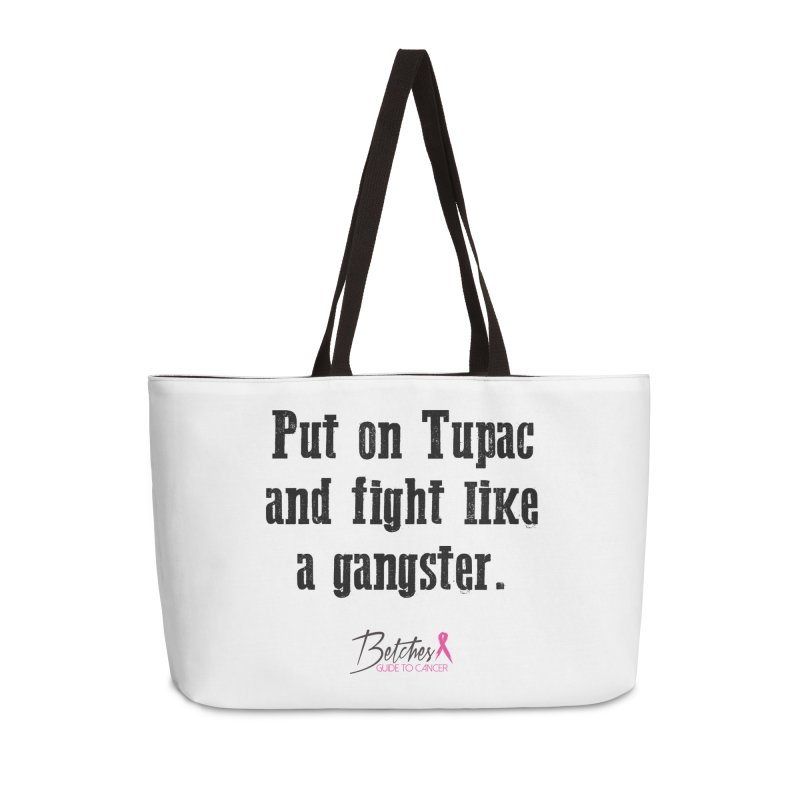 Put on Tupac and fight like a gangster. Accessories Bag by Betches Guide to Cancer Shop