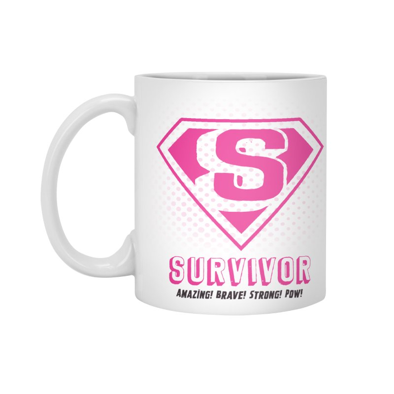 Superwoman Survivor Accessories Mug by Betches Guide to Cancer Shop