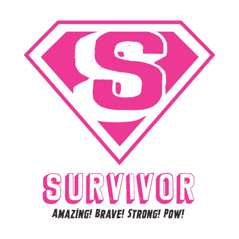 Superwoman Survivor Women's Longsleeve T-Shirt by Betches Guide to Cancer Shop