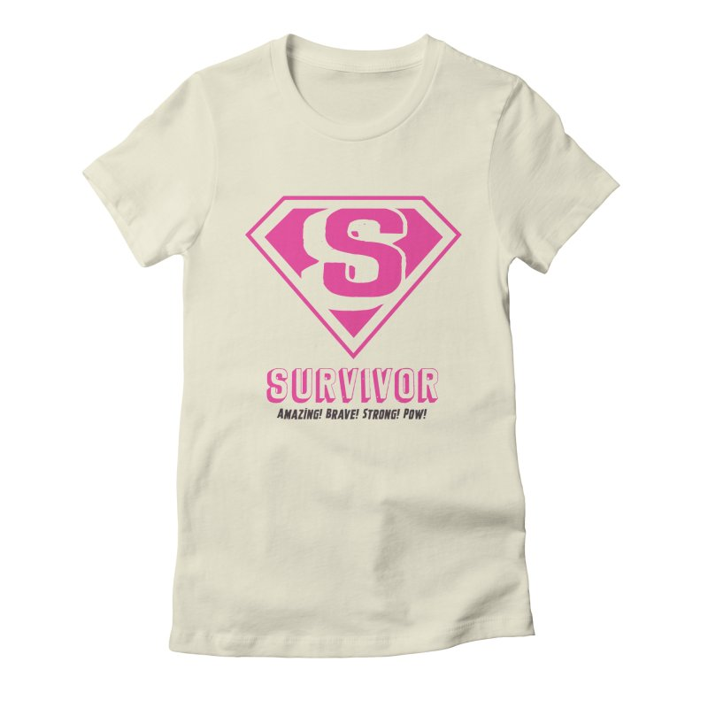 Superwoman Survivor Women's T-Shirt by Betches Guide to Cancer Shop