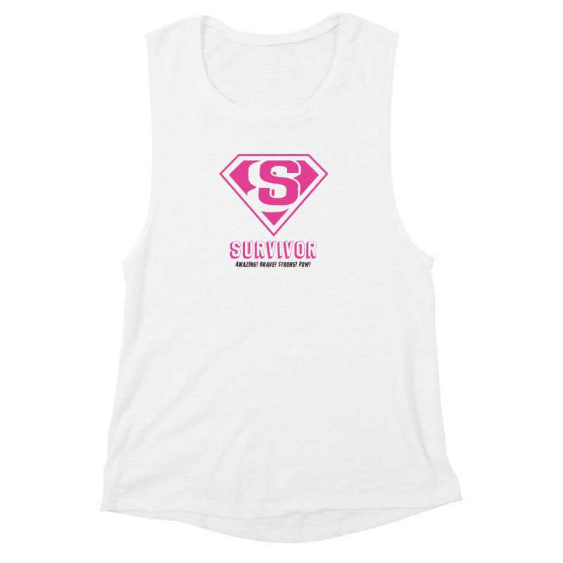 Superwoman Survivor Women's Tank by Betches Guide to Cancer Shop