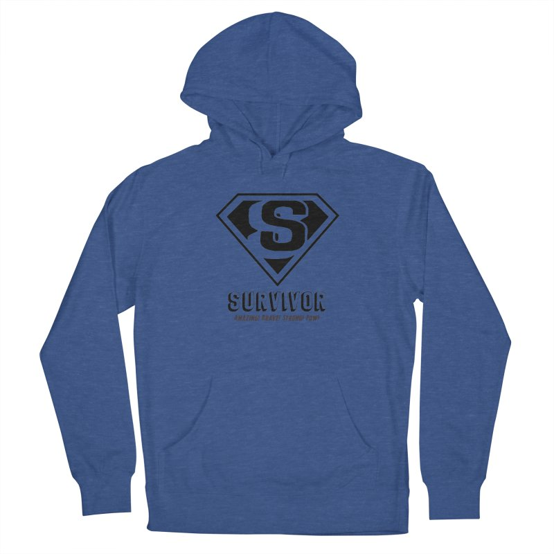 Survivor - black Women's Pullover Hoody by Betches Guide to Cancer Shop