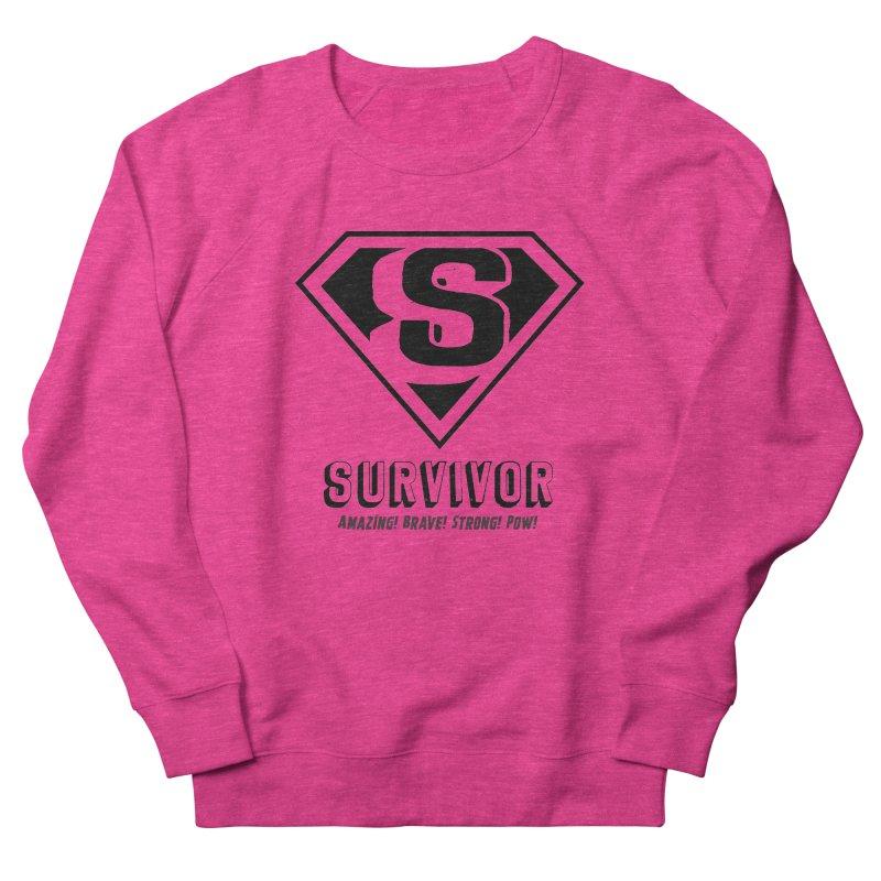 Survivor - black Men's Sweatshirt by Betches Guide to Cancer Shop
