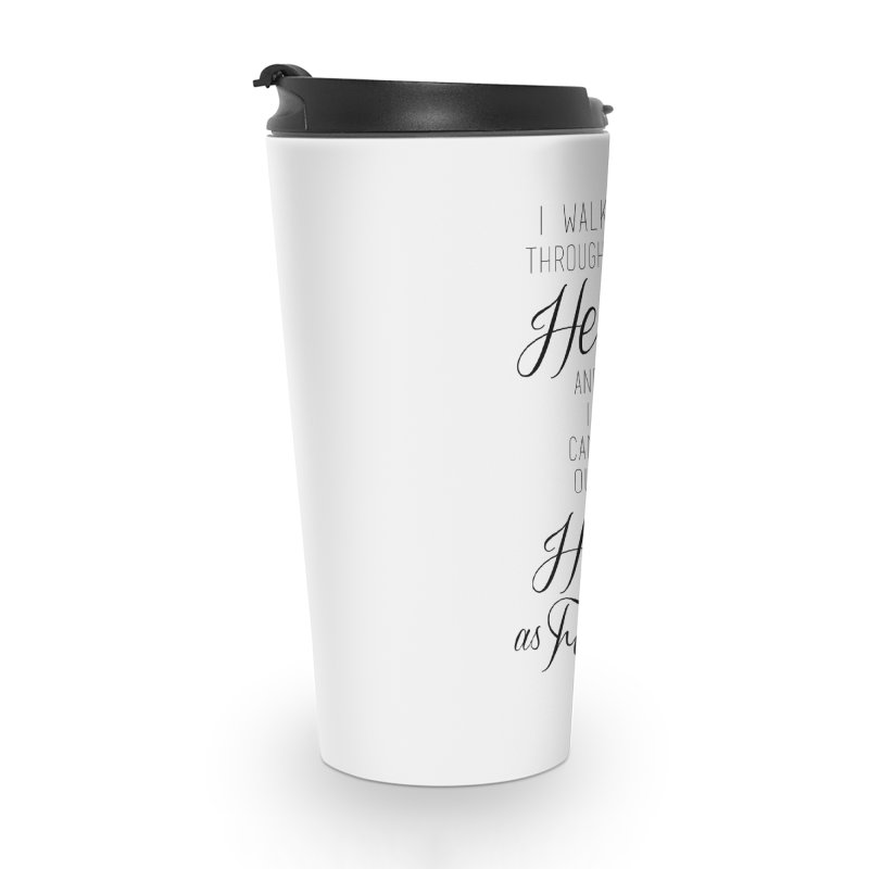 Hot as Hell - white Accessories Travel Mug by Betches Guide to Cancer Shop