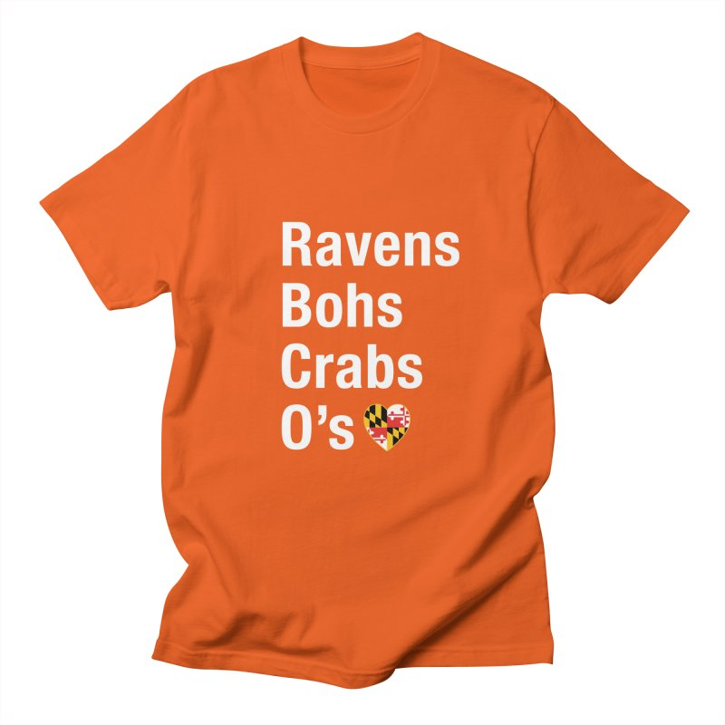Ravens Bohs Crabs O's Men's T-Shirt by Betches Guide to Cancer Shop