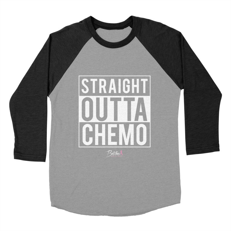 Straight Outta Chemo Men's Baseball Triblend T-Shirt by Betches Guide to Cancer Shop