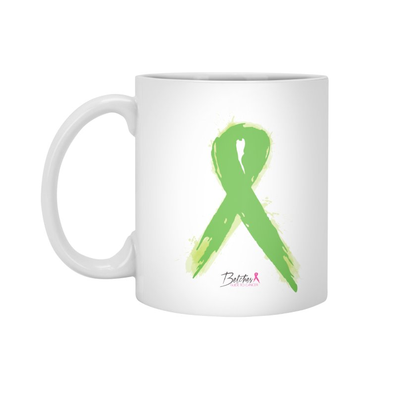 Green Watercolor Ribbon Accessories Mug by Betches Guide to Cancer Shop