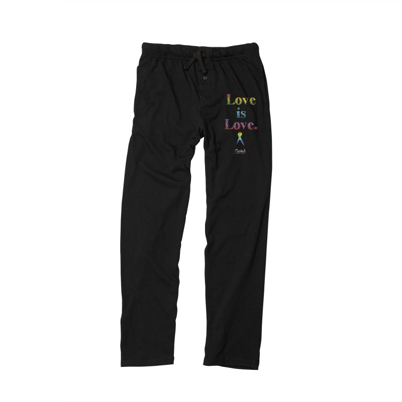 Love is Love Men's Lounge Pants by Betches Guide to Cancer Shop