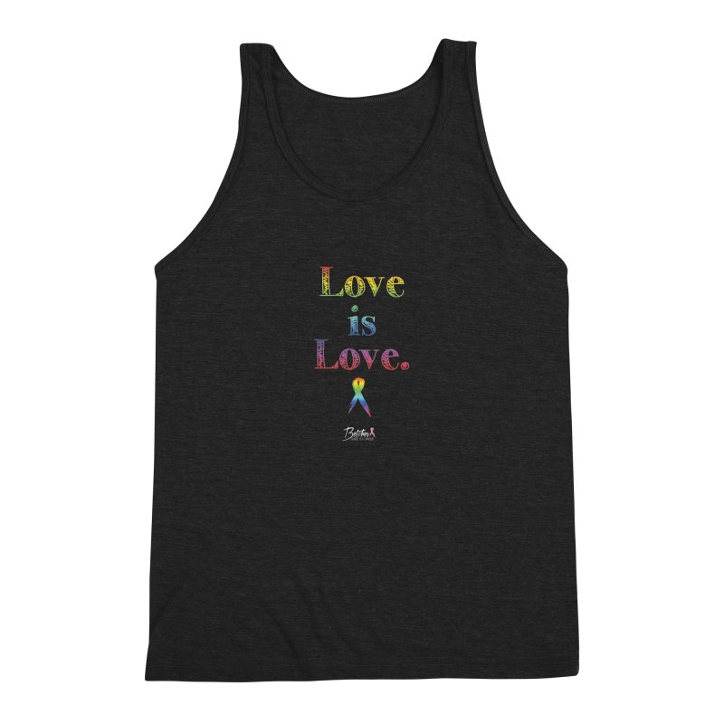 Love is Love Men's Tank by Betches Guide to Cancer Shop