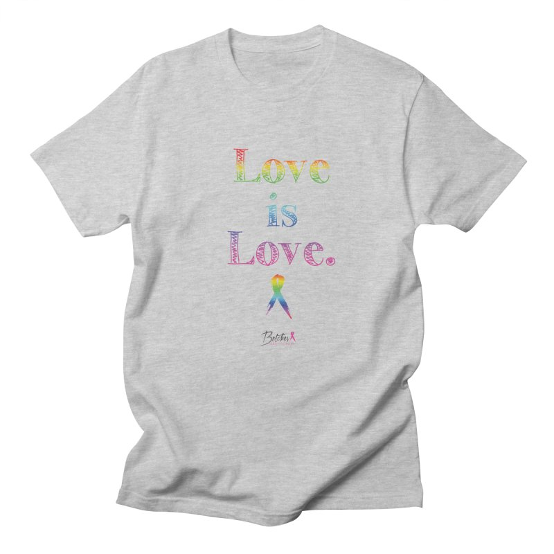 Love is Love - white Men's Regular T-Shirt by Betches Guide to Cancer Shop