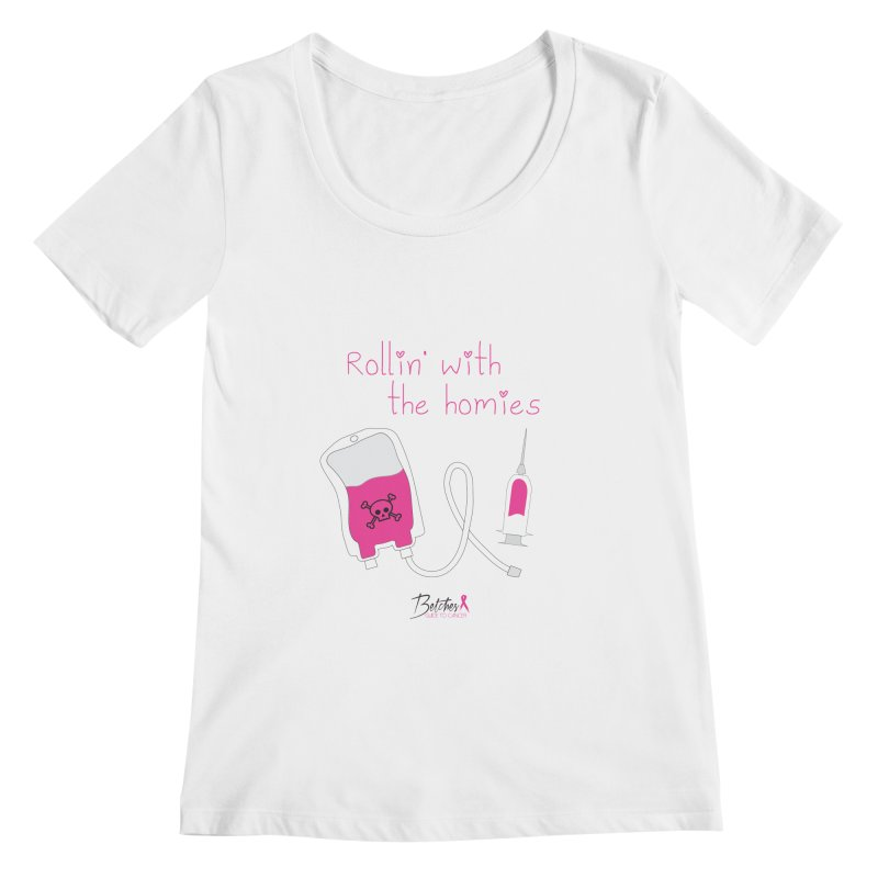 My homies Women's Regular Scoop Neck by Betches Guide to Cancer Shop